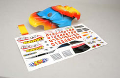 Body Shell(Printed)& Decals N.X-Cel - z-xtm149167