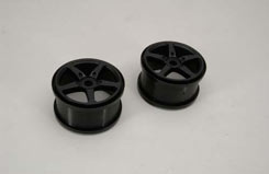 Wheel 5-Spoke Type/Black (Pk2) Xlb - z-xtm149929