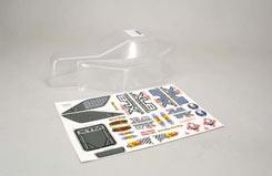 Body (Clear) & Decals - Xlb - z-xtm149950