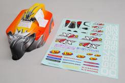 XTM XT2e Body (Yellow/Red) & Decals - z-xtm149953