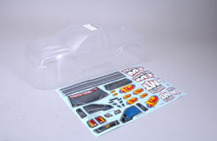 Body Shell (Clear) & Decals - Mmt - z-xtm149956