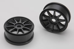 Wheel-Clawz/Black/Pk2 - Xt2E - z-xtm150058