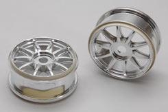 Wheel-Clawz/Satin Chrome/Pk2 - Xt2E - z-xtm150059