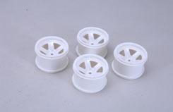 XTM Racing Wheels 5 Spoke/White (Pa - z-xtm3833